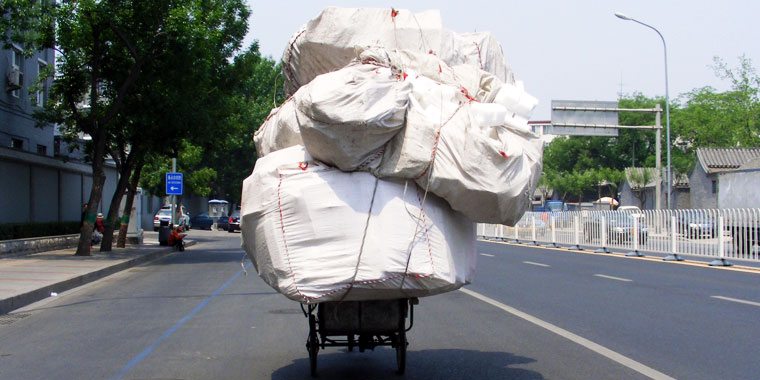 Chinese Package Delivery