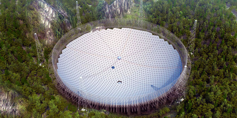Five-hundred-meter Aperture Spherical Telescope (FAST)